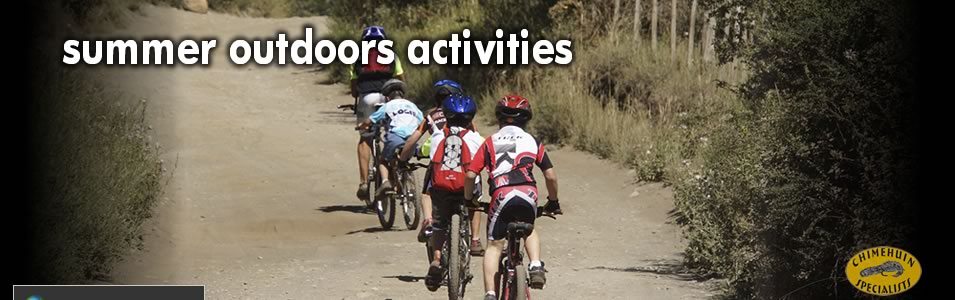 outdoors activities can be easily planned and are just minutes away from town